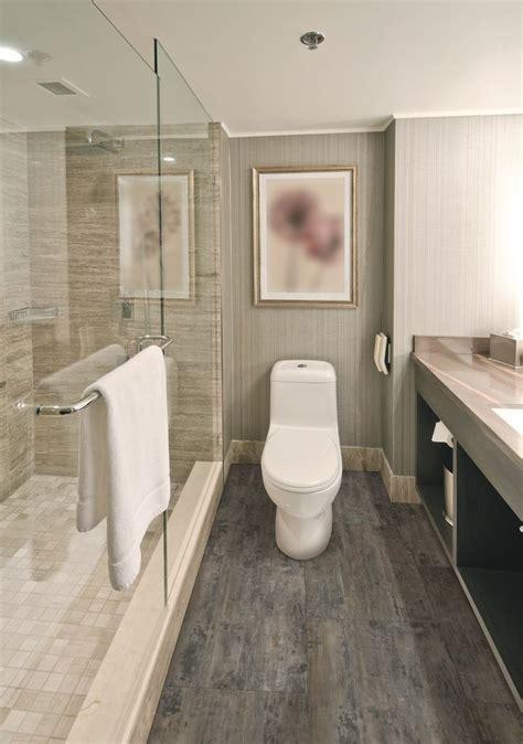 coretec  tile petrified forest modern bathroom