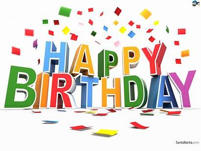 Birthday Happy Confetti Clipart Anniversaire Compleanno Gute