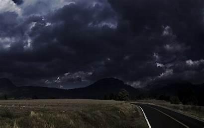 Clouds Dark Wallpapers Nature Background Desktop Storm