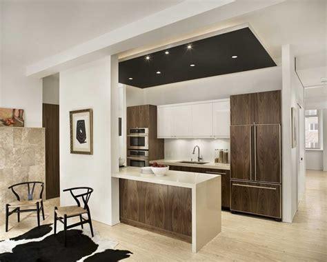 decoration cuisine americaine salon cuisine ouverte sur salon avec idee deco cuisine