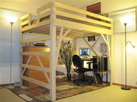 furniture brown wooden bunk bed with desk underneath cool bunk beds design ideas from bed ide