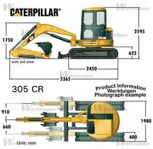 cat excavator sizes caterpillar 305 cr caterpillar machinery