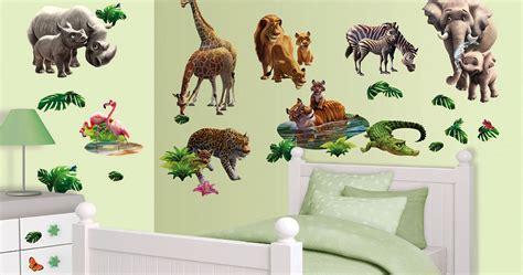 Kinderzimmer Deko Urwald by Wandtattoo Dschungel Tiere Afrika Walltastic Wandsticker