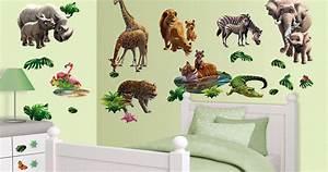 Wandtattoo Kinderzimmer Dschungel : wandtattoo dschungel tiere afrika walltastic wandsticker ~ Orissabook.com Haus und Dekorationen