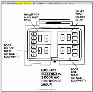 55463 2002 Mercury Mountaineer Fuse Box Diagram