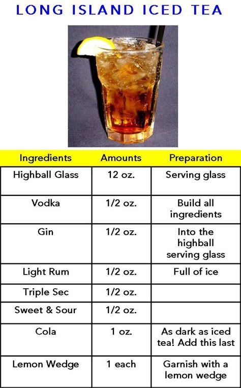 recipe for island iced tea long island iced tea yum drink ideas pinterest