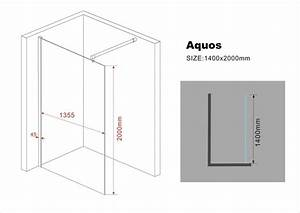 200 Mm En Cm : 10 mm duschwand aquos 140 x 200 cm glasdeals ~ Dailycaller-alerts.com Idées de Décoration