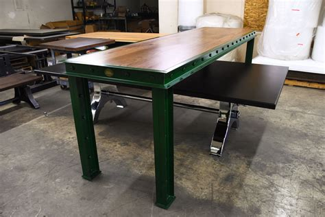 green firehouse bar tables model fh vintage