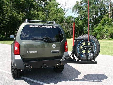 foto de 2005 2013 Xterra Rear Bumper & Spare Tire Carrier Coches