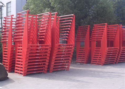 warehouse cold rolling steel portable stacking racks  flexible material handling