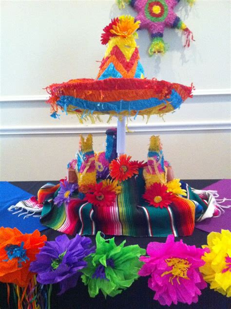 The Posh Pixie Mexican Party Table Decorations