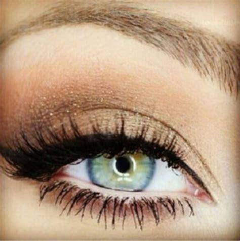 smokey eye  bluegreen eyes eye   pinterest smoky eye wedding makeup  natural