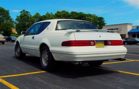 Find Used 1988 Mercury Cougar Xr7 Excellent Condition