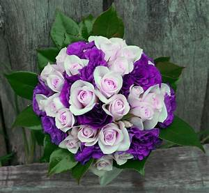 Wedding Flowers: wedding flowers purple