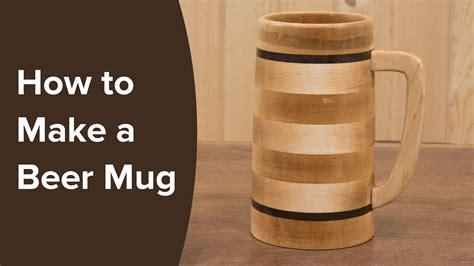 beer mug   lathe woodturning projects