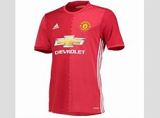Manchester United reveal new home kit for the 201617 season and here's what it will cost you