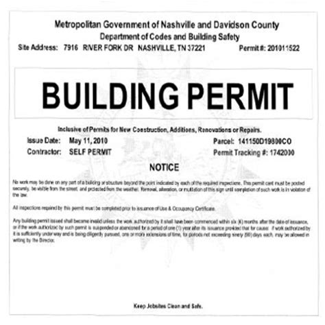 when do you need a building permit how to