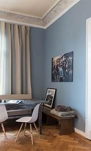 Alpina Feine Farben Ruhe Des Nordens : die besten 25 farblich abgesetzte w nde ideen auf pinterest wand fernsehwandhalterungen und ~ Watch28wear.com Haus und Dekorationen