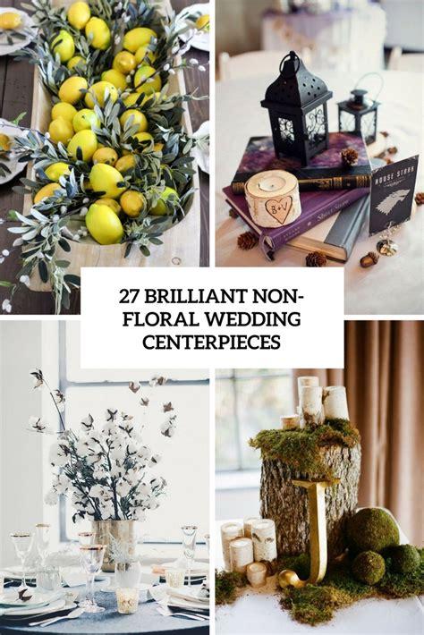 brilliant wedding centerpieces  flowers