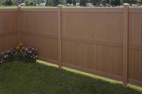 Galveston Certagrain® Privacy Fence Avinylfencecom