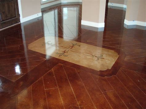 hardwood flooring on concrete concrete that looks like wood