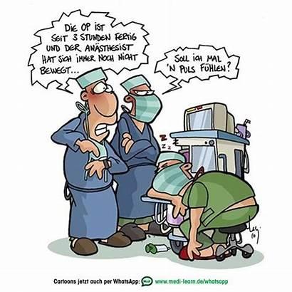 Humor Cartoon Rippenspreizer Cartoons Lustige Anesthesia Comics