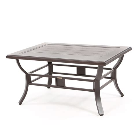 """Sadie outdoor wicker patio end table by havenside home. Sunvilla Laurel 35"""" x 48"""" Rectangular Slat Top Coffee Table 