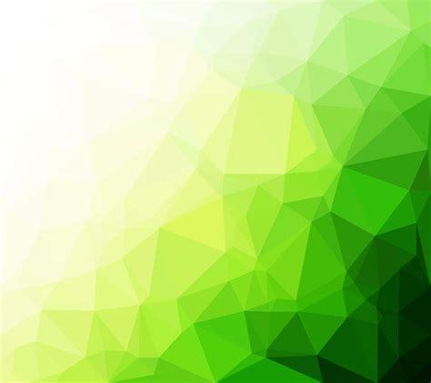 green polygonal mosaic background creative design