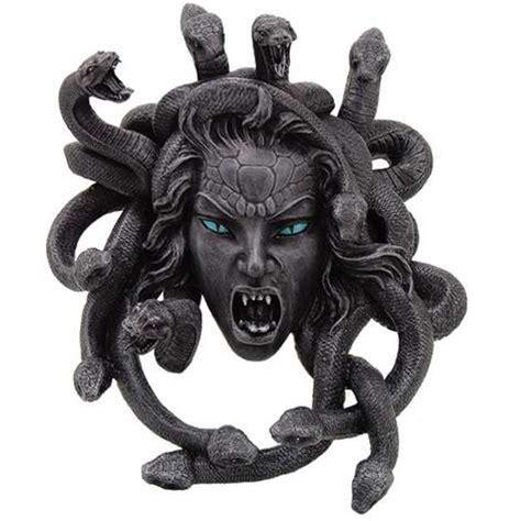 Medusa Head Greek Gorgon Plaque in Stone Finish - Greek ...