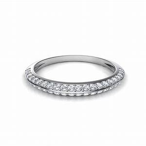 2018 latest pave diamond wedding rings With pave diamond wedding rings