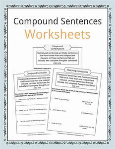 Compound Sentences Worksheets  Examples  U0026 Definition For Kids