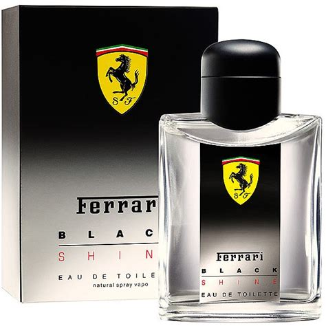 scuderia ferrari black shine ferrari cologne  fragrance
