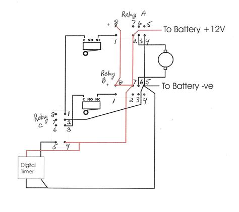12 Volt Deer Feeder Wiring Diagram by How Do I Wire A 12v Dc Motor To Micro Switches Relay