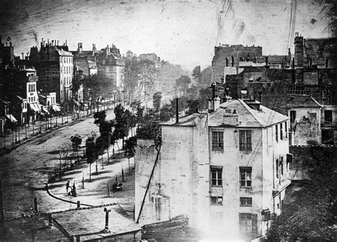 boulevard du temple an introduction to 19th century