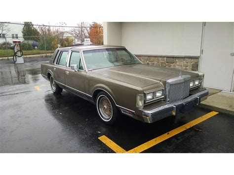 how to sell used cars 1985 lincoln continental navigation system 1985 lincoln continental classic car philadelphia pa 19197