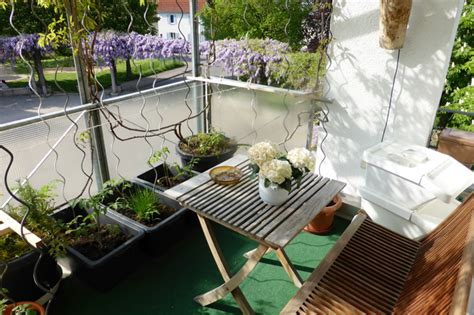Hängende Gärten Balkon by Kleiner Garten Auf Dem Balkon