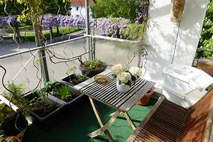 Gemüse Auf Dem Balkon : kleiner garten auf dem balkon ~ Lizthompson.info Haus und Dekorationen