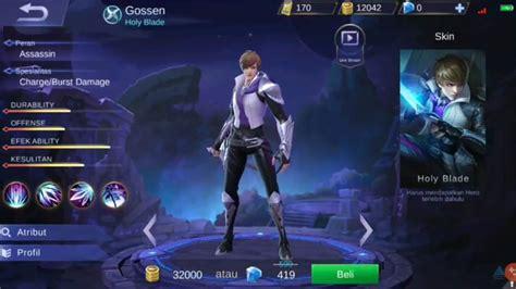 Hero Gossen Hadir Di Mobile Legend