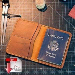 leather, passport, cover, digital, template, , a4, , , u2013, makesupply