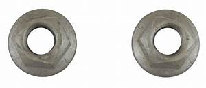 Gm Flanged Nuts Hex Head Pack Of 2 Prevailing Torque