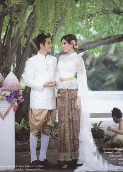 images  thai traditional dress  pinterest