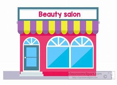 Salon Clipart Beauty Building Saloon Clip Transparent