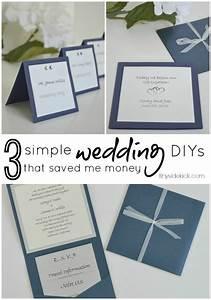 3 simple do it yourself wedding ideas wedding wedding With do it yourself wedding invitations ideas free