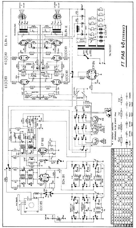 Carad Epas Stereo Transistor Amplifier Sch Service