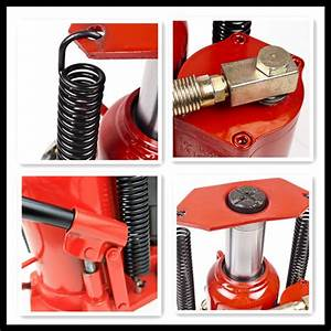 Air And Manual Auto Lifting Hydraulic Bottle Jack