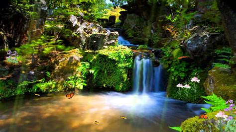 Animated Lake Wallpaper - just paradise animated wallpaper http www