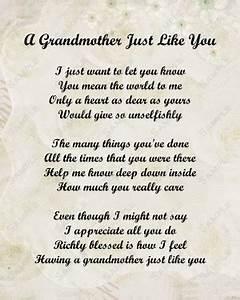 Grandmother Pas... Grandma Sick Quotes