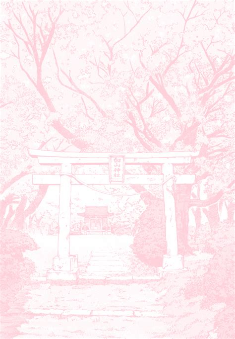 aesthetic pink anime wallpapers