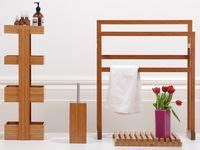 teak bath shelf west elm 14 best images about wood towel rail on ladder