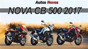 Honda Cb 500 2017 : nova cb 500 2017 em detalhes youtube ~ Medecine-chirurgie-esthetiques.com Avis de Voitures